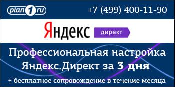 Контекстная реклама Яндекс.Директ (Подольск) Подольск